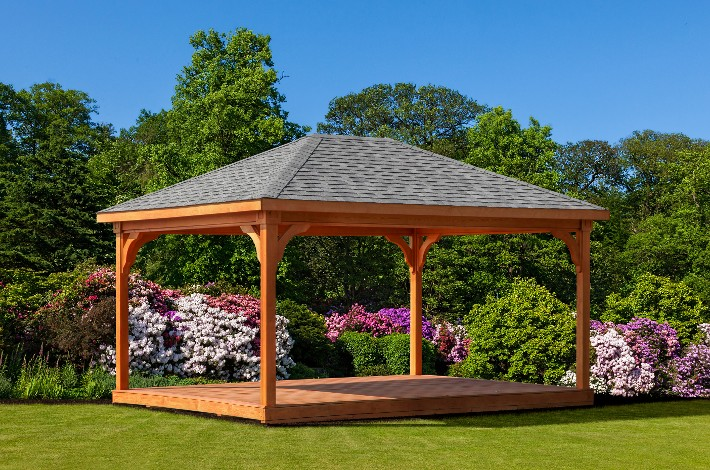 Gera Gardens 187 Wood Pavilions
